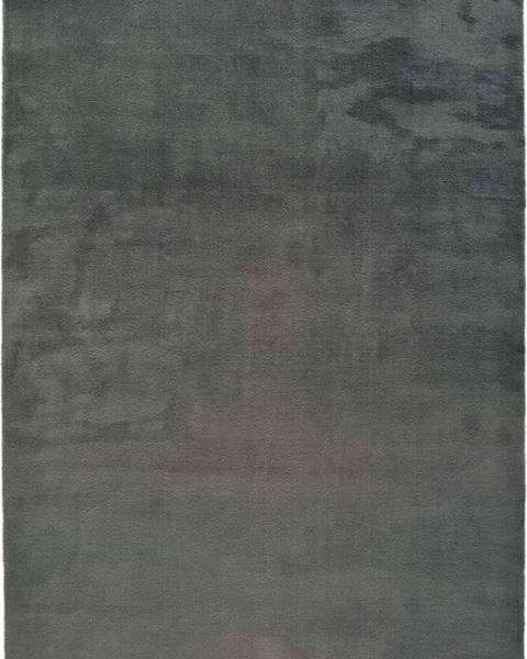 Universal Tmavě šedý koberec Universal Berna Liso, 190 x 290 cm