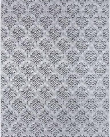 Šedý venkovní koberec Ragami Moscow, 80 x 150 cm