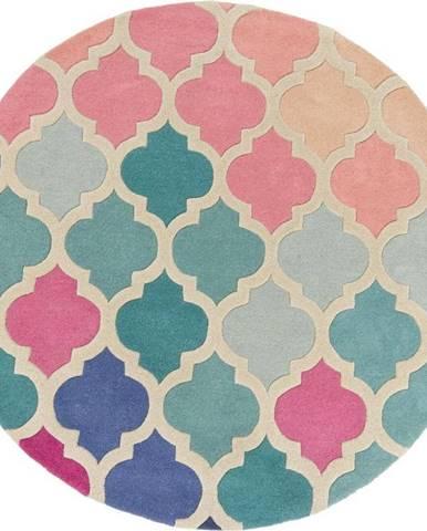 Vlněný koberec Flair Rugs Rosella, ⌀ 160 cm