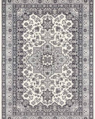 Krémově-šedý koberec Nouristan Parun Tabriz, 200 x 290 cm