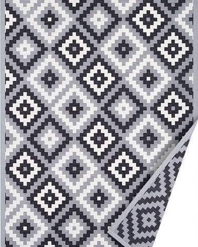 Šedý oboustranný koberec Narma Saka, 200 x 300 cm