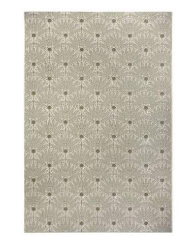 Zeleno-béžový venkovní koberec Ragami Amsterdam, 200 x 290 cm