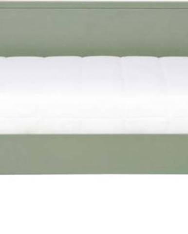 Zelená postel/sofa WOOOD Nikki, 200x90cm