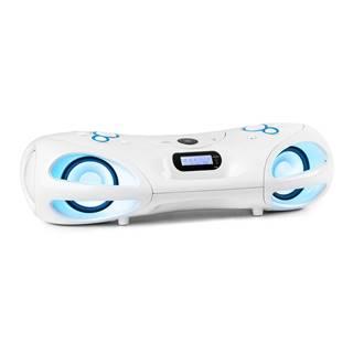 Auna Spacewoofer DAB Boombox, CD přehrávač, DAB+, UKW, Bluetooth, dálkové ovládání, LED