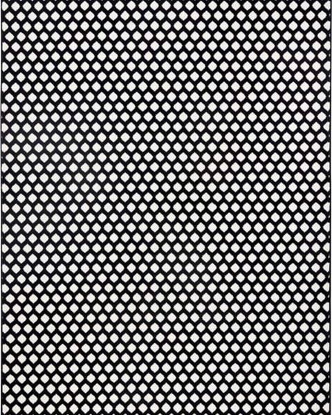 Zala Living Černobílý koberec Zala LivingSpot, 70x140cm