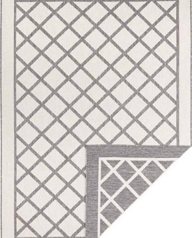Šedo-krémový venkovní koberec Bougari Sydney, 170 x 120 cm