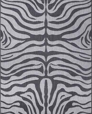 Šedý venkovní koberec Ragami Safari, 200 x 290 cm