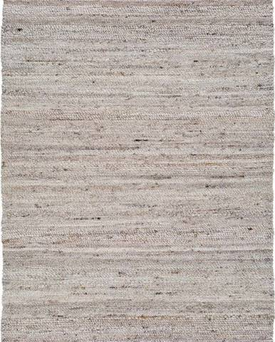 Světle béžový koberec z recyklovaného plastu Universal Cinder, 140 x 200 cm
