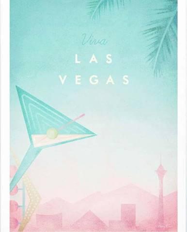 Plakát Travelposter Las Vegas, A3