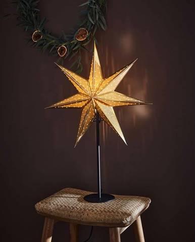 Vánoční světelná dekorace ve zlaté barvě Markslöjd Glitter