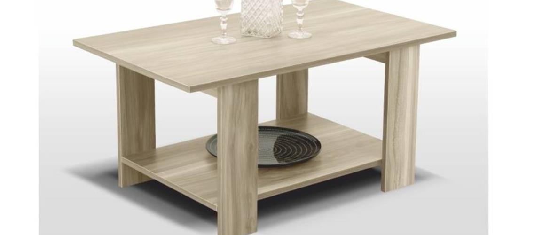 DEREK konferenční stolek, dub sonoma
