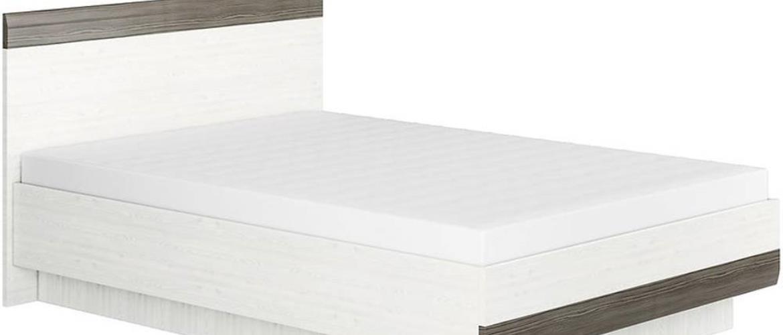 Postel Blanco 150 cm, borovice sněžná / new grey